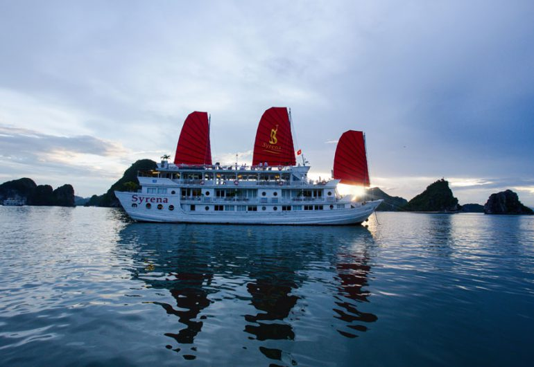syrena-cruise view-syrena cruises halong bay vietnam tour packages