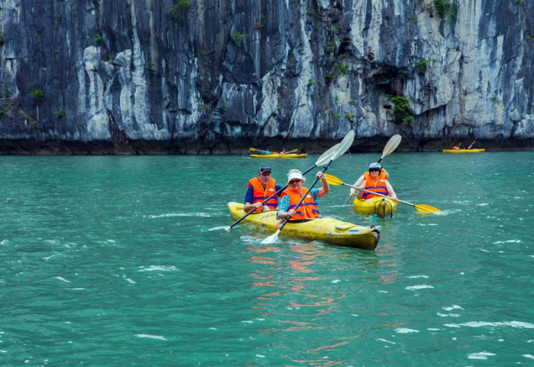 kayak-syrena cruises halong bay vietnam tour packages