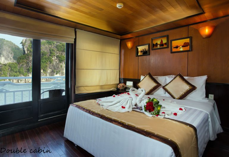deluxe private balcony-syrena cruises halong bay vietnam tour packages