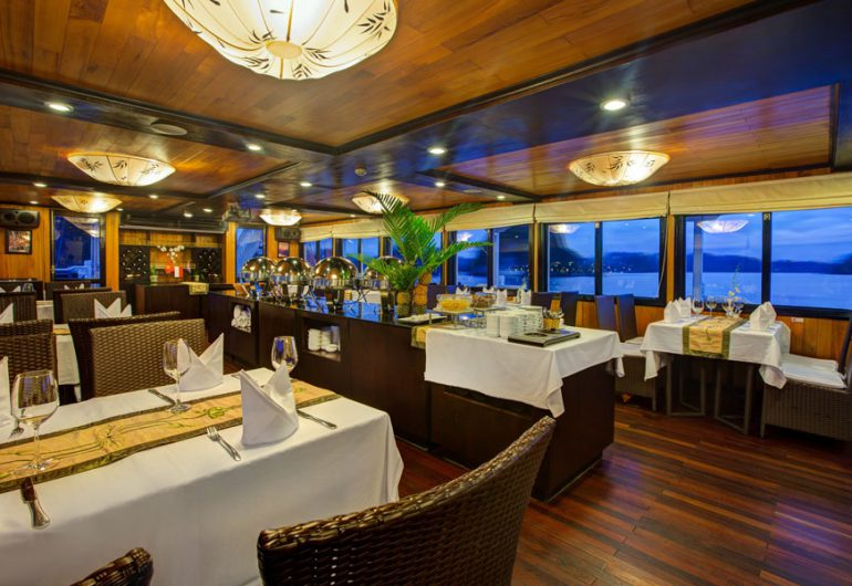 restaurant-syrena cruises halong bay vietnam tour packages