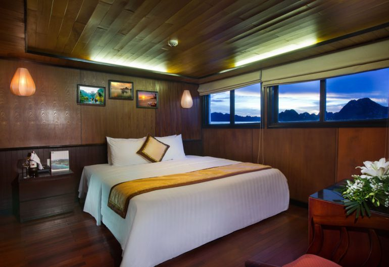deluxe cabins-syrena cruises halong bay vietnam tour packages
