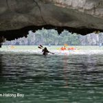 Kayak-Orchid Cruises Halong Bay- Lan Ha Bay Luxury Halong Cruises