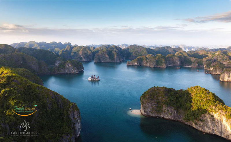 Orchid Cruises Halong Bay- Lan Ha Bay Luxury Halong Cruises