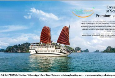 Tour Halong Bay on Seasun Cruise- Smile Travel +84 941776786
