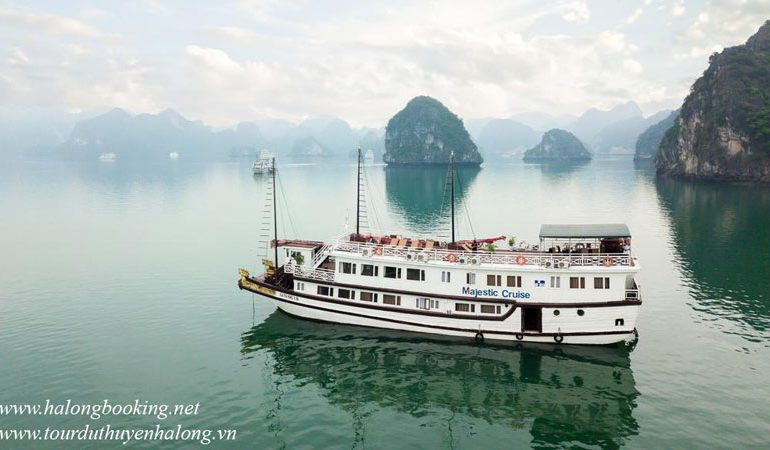 Majestic Cruise Halong Bay- Smile Travel, Call +84 941 776 786