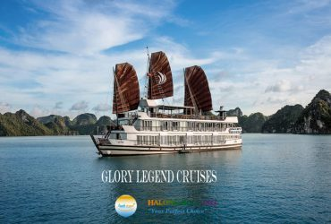 "Glory Legend Cruises Halong Bay Welcome to Glory Legend Cruises Glory Legend Cruises have got 22 cabins with the same services and standard. They have been operating in December 2014. They are modern and tastefully designed boats, the boats feature spacious, well-appointed cabins and suites with large en-suite bathrooms, large sundecks with comfortable lounging furniture and elegant dining rooms and bars. We have designed and fitted our boats to international standards while maintaining traditional style, creating the perfect balance of modern comforts and nostalgic ambiance. Amongst all the best Halong Bay Cruise recommendation from travellers, we are proud to be always in the leading team. Halong Glory Legend Cruises offer an elegant, relaxing and fulfilling ways to explore endless style in Halong bay. The cruise brings us into contact with local people in different floating villages of the Halong bay. With Glory Legend Cruises, you will have ample opportunity to see Vietnam in its authenticity and sample local culture and food, in a one unpacking, unforgettable vacation where your ""floating hotel"" get you insight into Halong bay Vietnam. Our goal is to offer a soothing as well as stimulating experience that you will remember and cherish. Our dedicated and professional management and staff await you and look forward to serving you on magnificent Halong Bay. CABIN& SUITES: Deluxe Ocean Full View Number of cabins: 14 Average cabin size: 16.0 sq Type of cabin: 1 Double bed Or 2 Single beds Max occupancy: 2 adults + 1 (extra mattress) Family Deluxe Ocean Full View Number of cabins: 4 Average cabin size: 34.0 sq Type of cabin: 01 DBL bed and 02 SGL bed Max occupancy: 4 adults + 1 (extra mattress Suite Ocean Full View Number of cabins: 8 Average cabin size: 16.0 sq Type of cabin: 1 Double bed or 2 Single beds Max occupancy: 2 adults + 1 (extra mattress) Family Suite Ocean Full View Number of cabins: 2 Average cabin size: 32.0 sq Type of cabin: 01 DBL bed and 02 SGL bed Max occupancy: 4 adults + 1 (extra mattress) It will not be a perfect trip in Halong without Glory Legend cruise. Visit Halong Bay, there are many cruises for you to choose and Glory Legend cruise is an out-standing choice. Book our perfect Glory Legend Cruises Halong to explore Halong Bay with many interesting activities and top attractions nearby."