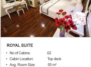 signature royal cruise halong- smile travel