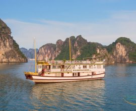 Golden Star Cruise Tour in Halong Bay - Smile Travel +84 941776786
