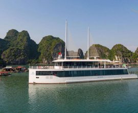 Halong JadeSails is an elite and unique sailboat designed with the idea of creating a luxurious open space.
