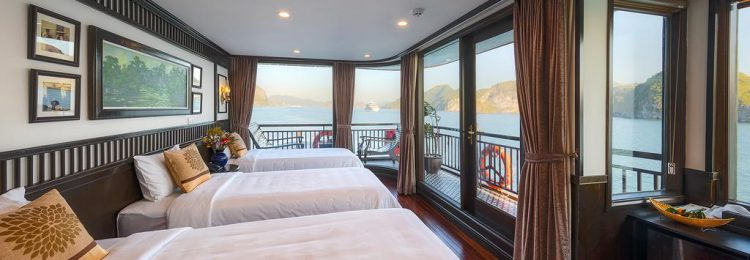 SENA CRUISES TOUR IN HALONG BAY- LAN HA BAY.