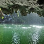 """Dark and Light"" Caves in Halong Bay"