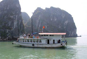 Halong 1 tour de creuer d'un dia de Hanoi