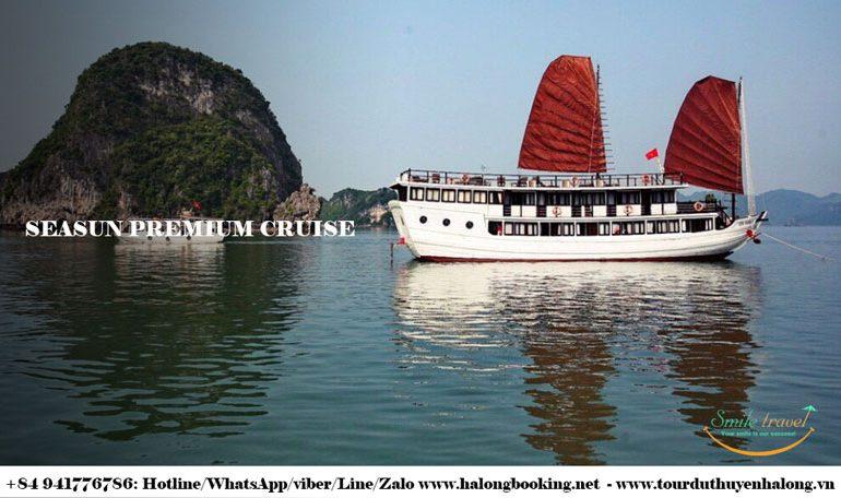 Seasun 크루즈에 투어 하롱 베이- 미소 여행 +84 941776786