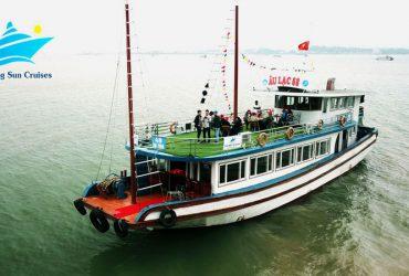 新一佳下龙湾邮轮一日游 5,5-6 小时巡航- 下龙湾邮轮太阳