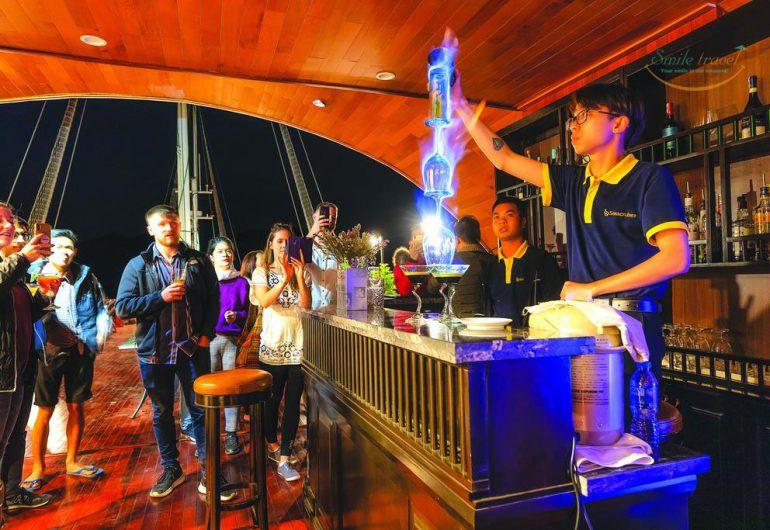 SENA CRUISES 투어 하롱 베이- LAN HA BAY.