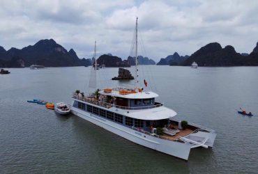 Excursió d'un dia complet al catamarà Halong